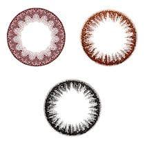 ワンデーキャラアイナチュラルプラス装用画像