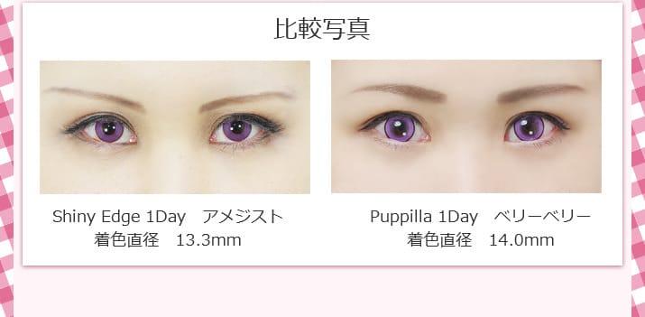 Puppilla1dayの比較写真