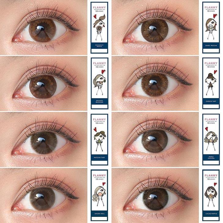 こっそり叶うオトナ可愛い瞳|フランミーにnewデザイン2色が追加され全8色