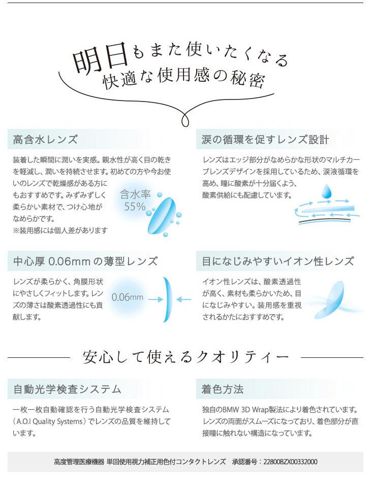 ジュリエッタウィンク鈴木友菜イメモ|高含水レンズ55%で明日もまた使いたくなる快適な使用感