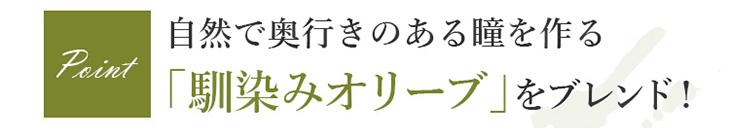 奥行のある瞳の秘訣はオリーブカラー モテコンアネコン2weekカラコン御秒奈々マーシュ彩