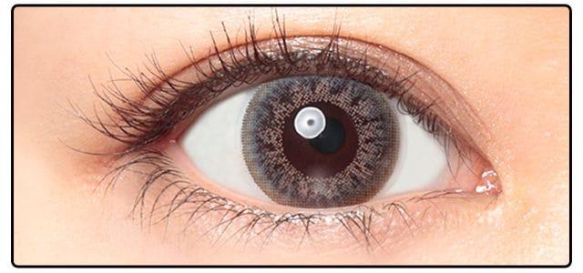 ホリデーグレー|黒目の発色