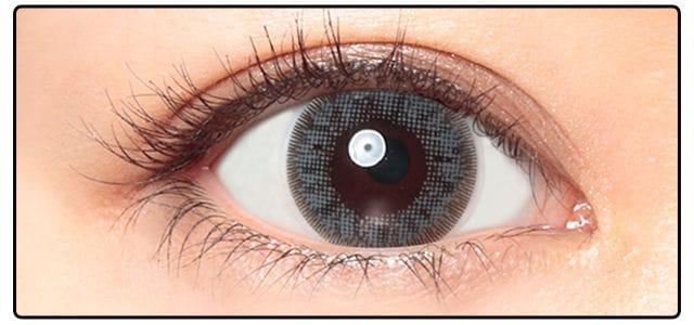 ウィークエンドグレー|黒目の発色