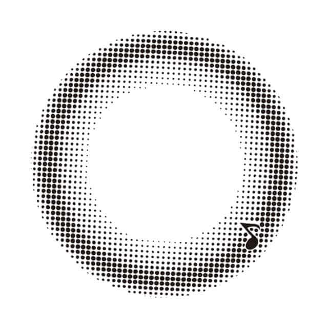 ワルツブラック レンズ画像