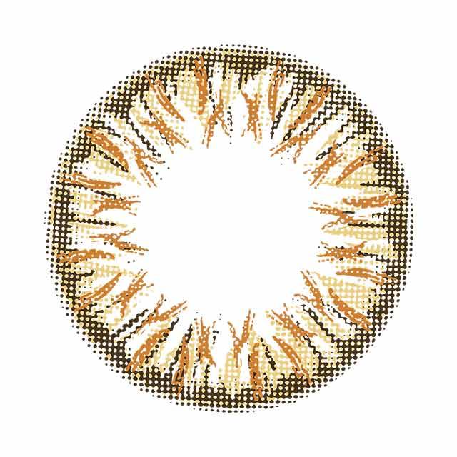 ダイヤモンドゴールド レンズ画像