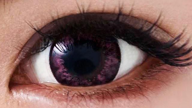 ブラックピンク 装用画像