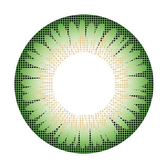 コンタクトフィルムズ 03GN-Bスリートーングリーン度なし 15.0mm