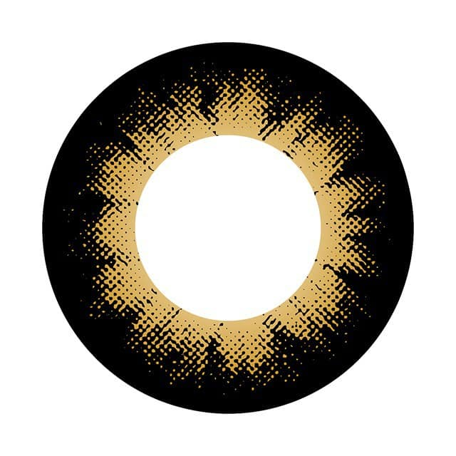 コンタクトフィルムズ 04BR カラーサークルブラウン度なし 14.0mm