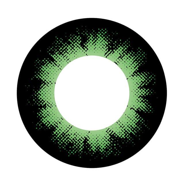 04GN カラーサークルグリーン レンズ画像