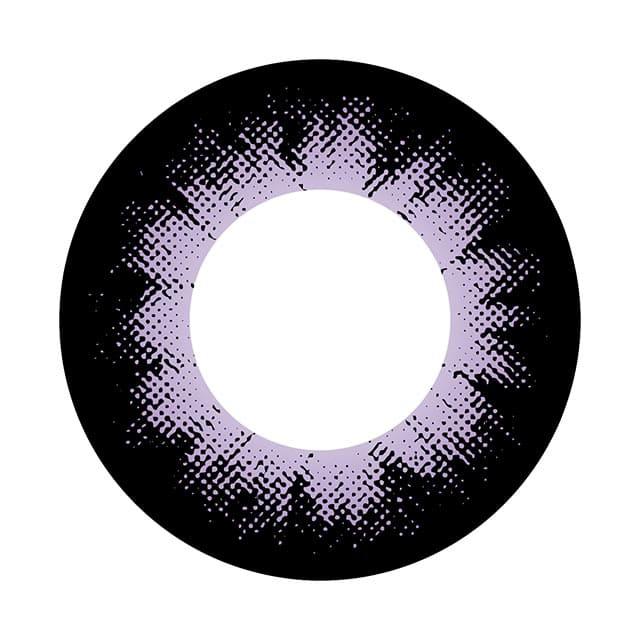 04VI カラーサークルバイオレット レンズ画像