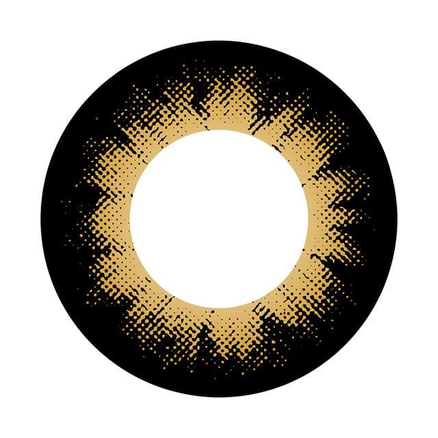 04BR-BO カラーサークルブラウン レンズ画像