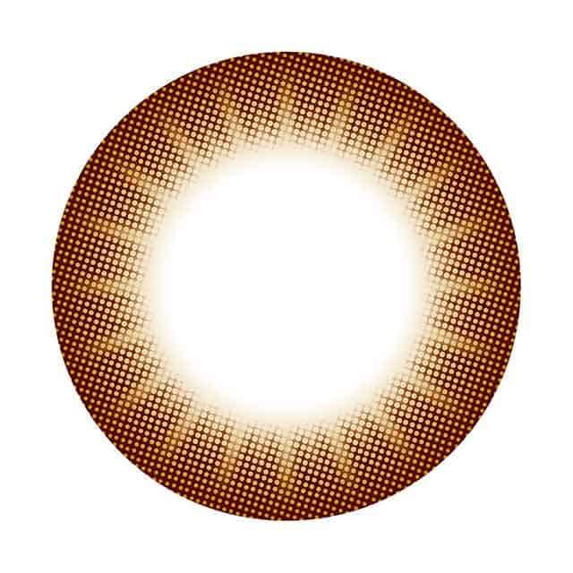 コンタクトフィルムズ BKBR ブラウンサークル度なし 14.0mm(3)