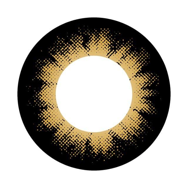 コンタクトフィルムズ 04BR-DB カラーサークルブラウン度あり 15.0mm