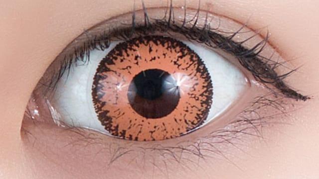 黄昏オレンジ 装用画像