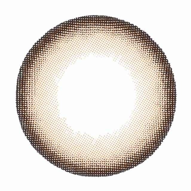 ブラウンフレア レンズ画像