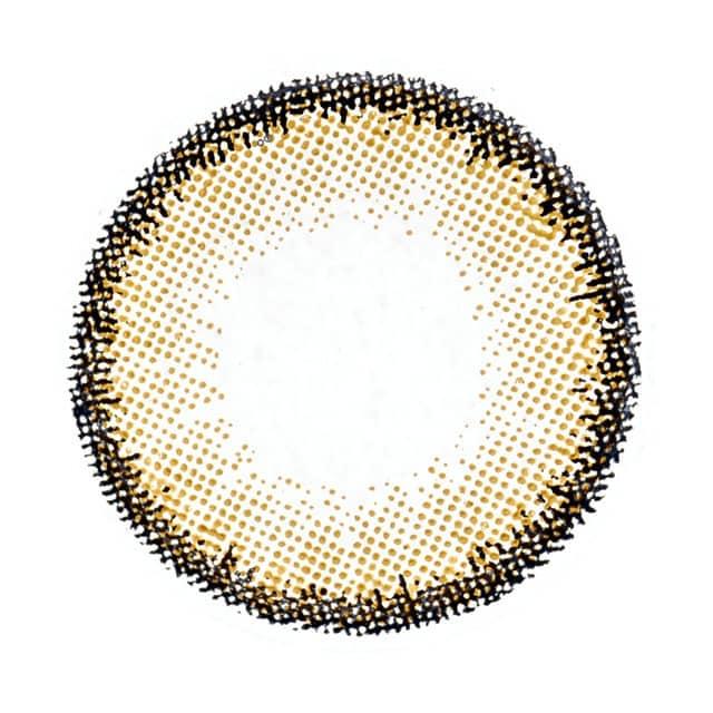 ゴールドブラウン レンズ画像