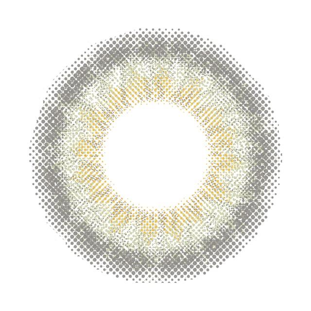 カラコン 新木優子イメージモデルアイジェニック シェイドオリーブ レンズ画像
