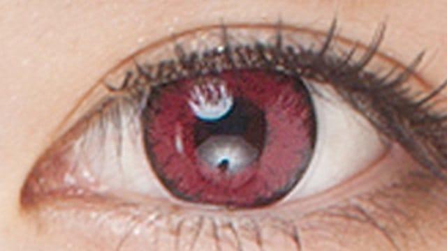 深い赤(レッド)カラコン|14.5mm