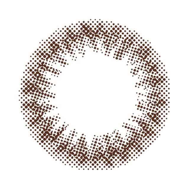 NO.10ナチュラルビターブラウン レンズ画像