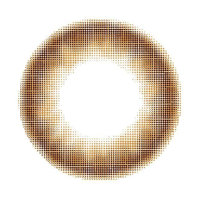 ミルクチョコレート レンズ画像