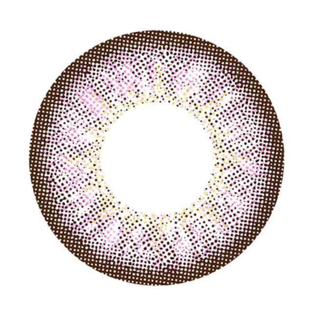 レジーナピンクブラウン レンズ画像