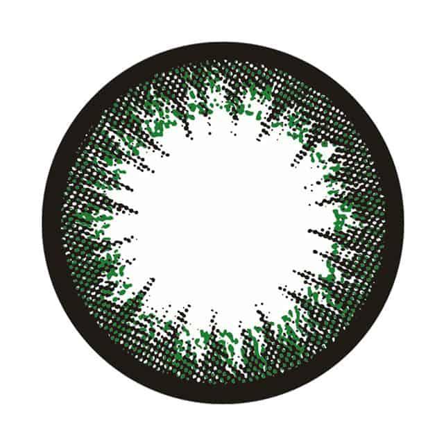 シークレットグリーン レンズ画像