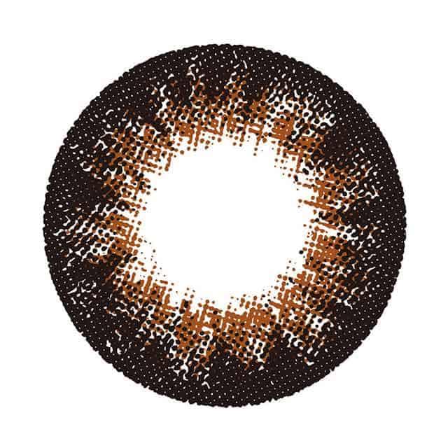 チョコブラウン14.8 レンズ画像