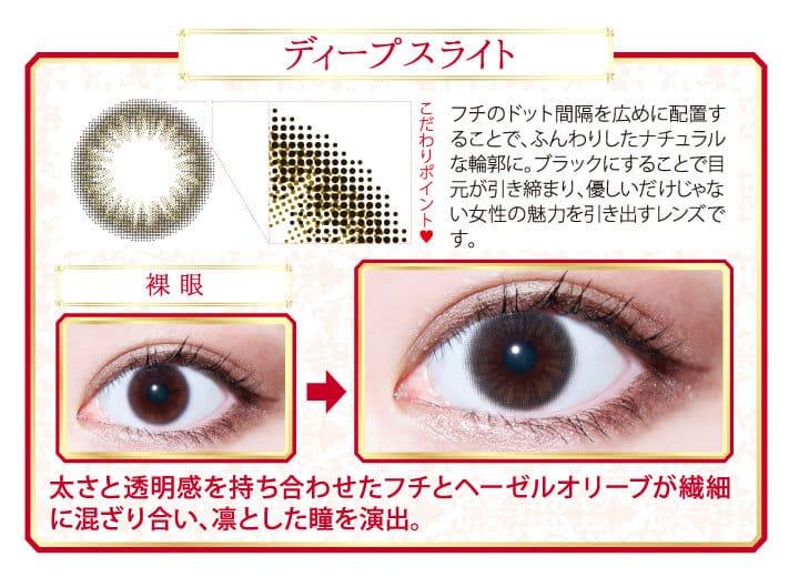 ディープススライト | レンズデザイン