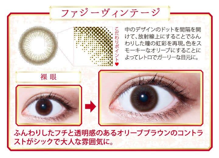ファジーヴィンテージ | レンズデザイン