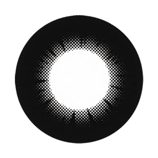 ブラックセピア レンズ画像