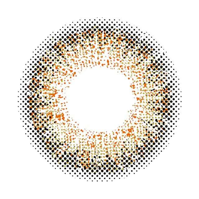 プティア(Putia)エルムヘーゼルのレンズ画像|通販サイトモアコンタクト
