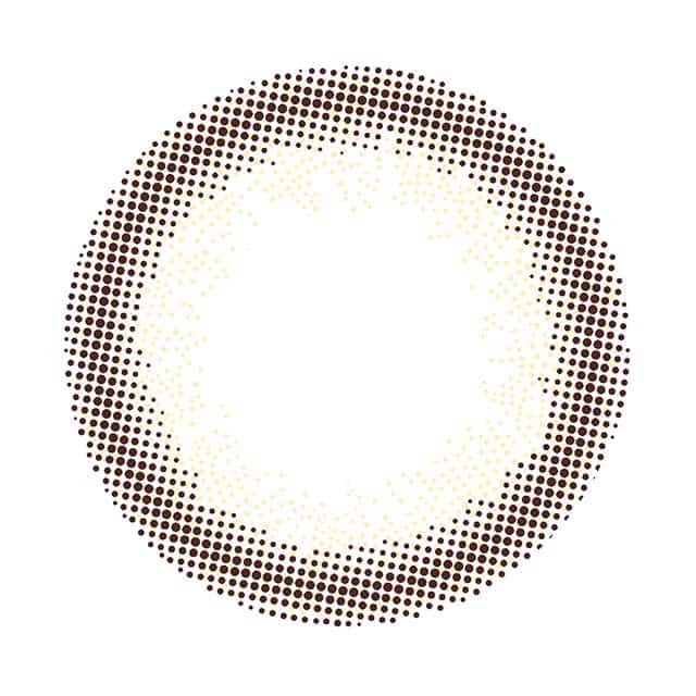 ピュアブラウン レンズ画像