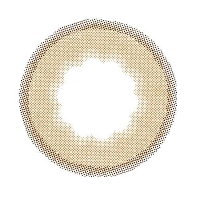 ラテミルクティ レンズ画像
