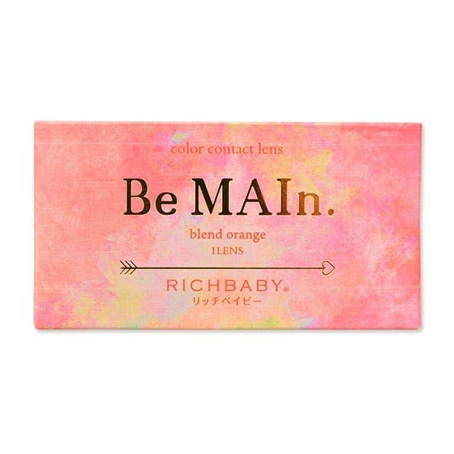 パッケージ画像,リッチベイビー ビマイン,RICHBABY Be MAIn,マンスリーカラコン,度あり,ナチュラル,ハーフ,わたなべ麻衣モデル プロデュース,渡辺麻衣