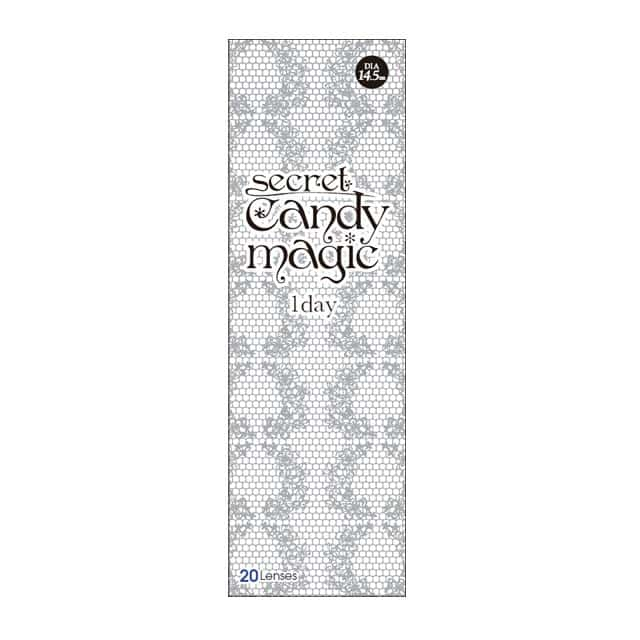 シークレットキャンディーマジックワンデー NO.12グレー度なし(4)