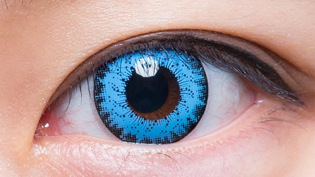ブルー101 装用画像