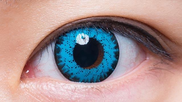 ブルー102 装用画像