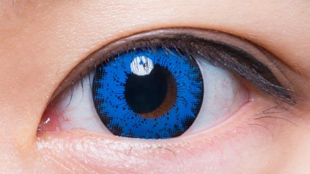 ブルー103 装用画像