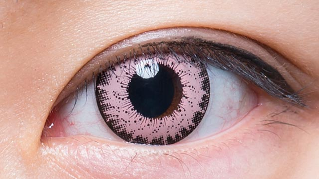 ピンク301 装用画像