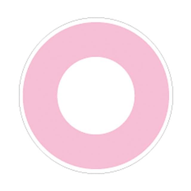 ホラーピンク レンズ画像