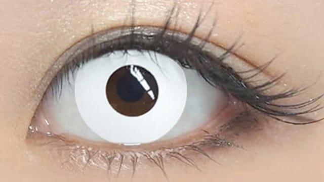 三白眼になれる度ありカラコン