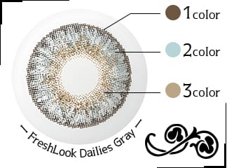 FreshLook Dailies Gray詳細