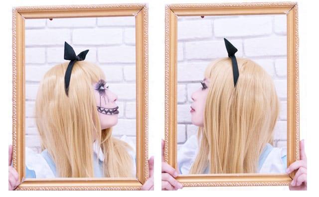 アリス半顔メイクまとめ