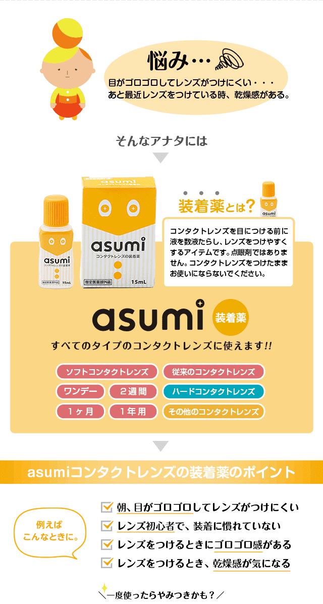 装着薬|asumi