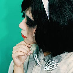 ハロウィン仮装・コスプレで使えるホワイトカラコン